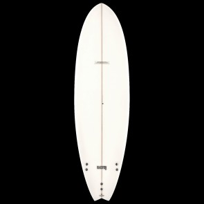 Global Surf Industries - 6'4'' Modern Blackfish Surfboard - Clear
