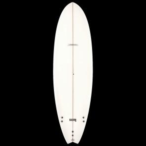 Global Surf Industries - 6'4'' Modern Blackfish Surfboard - Clear