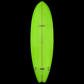 Global Surf Industries - 7'4'' Modern Blackfish Surfboard - Green