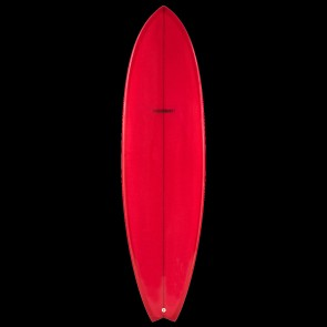 Global Surf Industries - 6'8'' Modern Blackfish Surfboard - Red