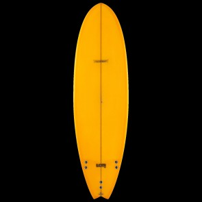 Global Surf Industries - 6'4'' Modern Blackfish Surfboard - Tangerine