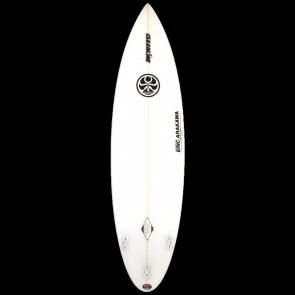 Hawaiian Island Creations - 6'4'' Arakawa Round Pin Surfboard