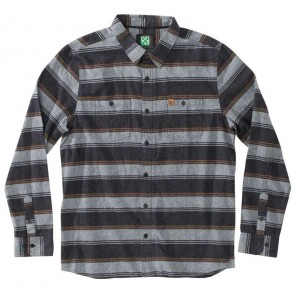 HippyTree Hops Flannel - Black