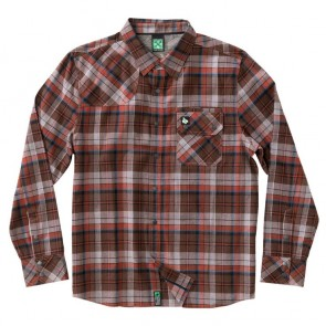 HippyTree Mills Flannel - Rust