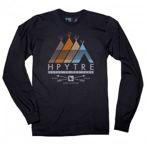 HippyTree Tribe Long Sleeve T-Shirt  - Black