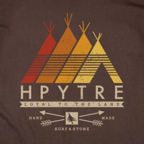 HippyTree Tribe Long Sleeve T-Shirt  - Brown