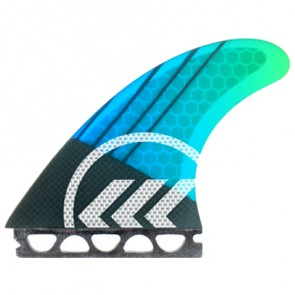 Kinetik Racing Fins - Parko Phase 4 Medium Futures - Blue/Green Fade