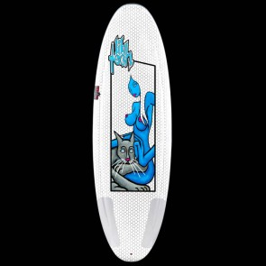 "Lib Tech Surfboard - 5'4"" Ramp Series - Blue Girl"