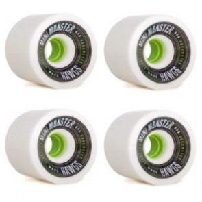 Landyachtz - 70mm Mini Monster Hawgs Wheels - White