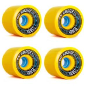 Landyachtz - 70mm Mini Monster Hawgs Wheels - Yellow