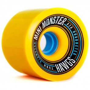 Landyachtz - 70mm Mini Monster Hawgs Wheels - Yellow