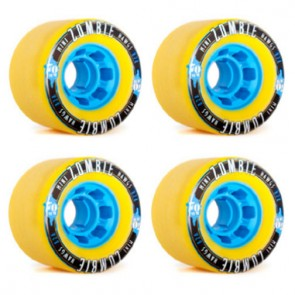 Landyachtz - 70mm Mini Zombie Hawgs Wheels - Yellow