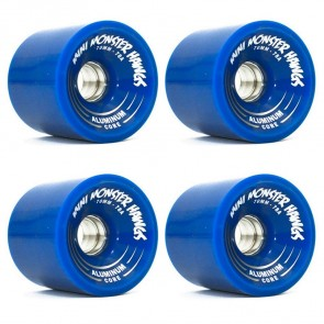 Landyachtz - 70mm Turbo Mini Monster Hawgs Wheels - Blue