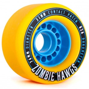 Landyachtz - 76mm Zombie Hawgs Wheels - Yellow
