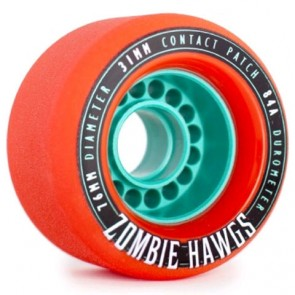 Landyachtz - 76mm Zombie Hawgs Wheels - Orange