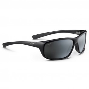Maui Jim Spartan Reef Sunglasses - Gloss Black/Neutral Grey