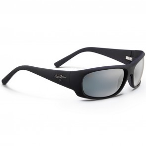 Maui Jim Ikaika Sunglasses - Matte Black/Neutral Grey