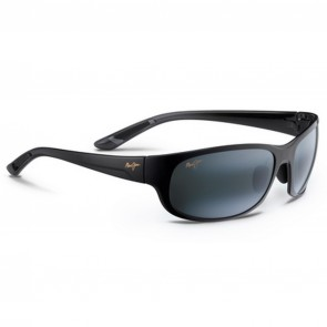 Maui Jim Twin Falls Sunglasses - Gloss Black/Neutral Grey
