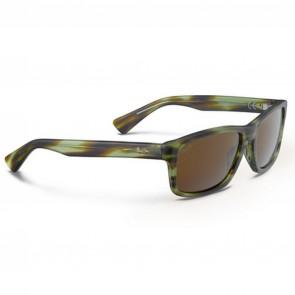 Maui Jim McGregor Point Sunglasses - Matte Olive Tortoise/HCL Bronze
