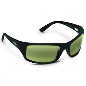 Maui Jim Peahi Sunglasses - Matte Black/Maui HT