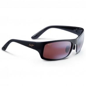 Maui Jim Haleakala Sunglasses - Gloss Black/Maui Rose
