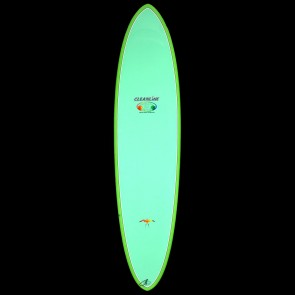 Epoxy Flyer Surfboards - 7'6'' Donald Takayama Flo Egg - Green