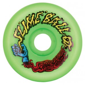Santa Cruz Skateboards - 60mm Slime Balls Vomits Wheels - Neon Green