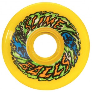 Santa Cruz Skateboards - 66mm Slime Balls 66's Wheels - Neon Yellow