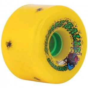 Santa Cruz Skateboards - 72mm Slime Balls Roadkill Wheels - Yellow