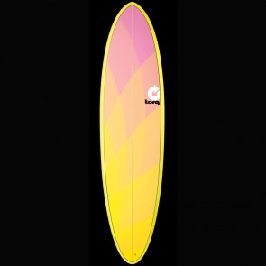 Torq Surfboards 7'2'' Torq Mod Funboard - Yellow/Pink