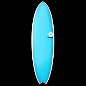 Torq Surfboards - 6'10'' Torq Mod Fish - Blue