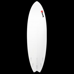 Torq Surfboards - 6'3'' Torq Mod Fish - Red Roller