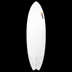 Torq Surfboards - 6'6'' Torq Mod Fish - Orange Bands