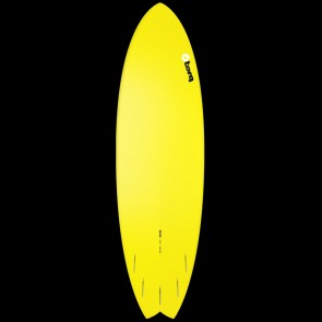 Torq Surfboards 6'6'' Torq Mod Fish - Yellow