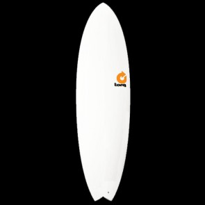 Torq Surfboards 5'11'' Torq Mod Fish - White