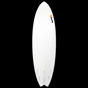 Torq Surfboards 6'10'' Torq Mod Fish - White
