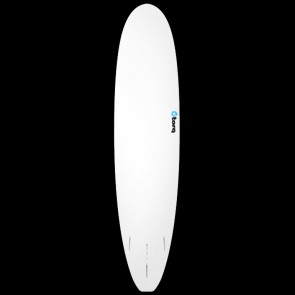 Torq Surfboards - 8'0'' Torq Mini Longboard - Blue Bands