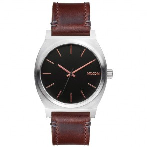 Nixon Watches The Time Teller - Grey/Rose Gold/Brown