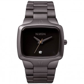Nixon Watches The Player - All Gunmetal/Black