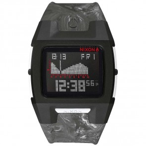 Nixon Watches The Lowdown Silicone - Marbled/Black/Smoke