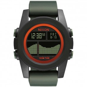 Nixon Watches The Unit Tide - Black/Surplus/Orange