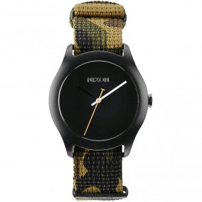 Nixon Watches The Mod - Black/Green Camo