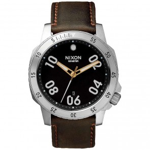 Nixon Watches The Ranger Leather - Black/Brown