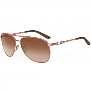Oakley Women's Daisy Chain Tone It Up Sunglasses - Grapefruit Pearl/Dark Brown Gradient