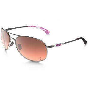 Oakley Women's Given Breast Cancer Sunglasses - Chrome/G40 Black Gradient