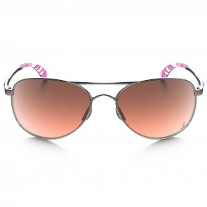 Oakley Women's Given Breast Cancer Sunglasses - Chrome/G40 Black Gradient