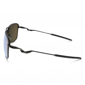 Oakley Tailhook Polarized Sunglasses - Titanium/Titanium Iridium