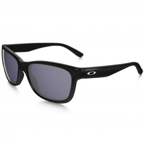 Oakley Women's Forehand Sunglasses - Polished Black/Grey