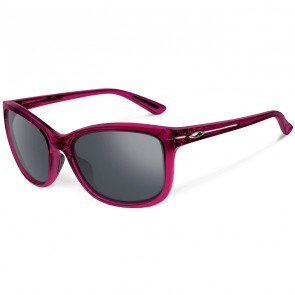 Oakley Women's Drop In Sunglasses - Crystal Raspberry/Black Iridium