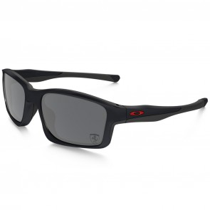 Oakley Chainlink Ferrari Sunglasses - Matte Steel/Black Iridium